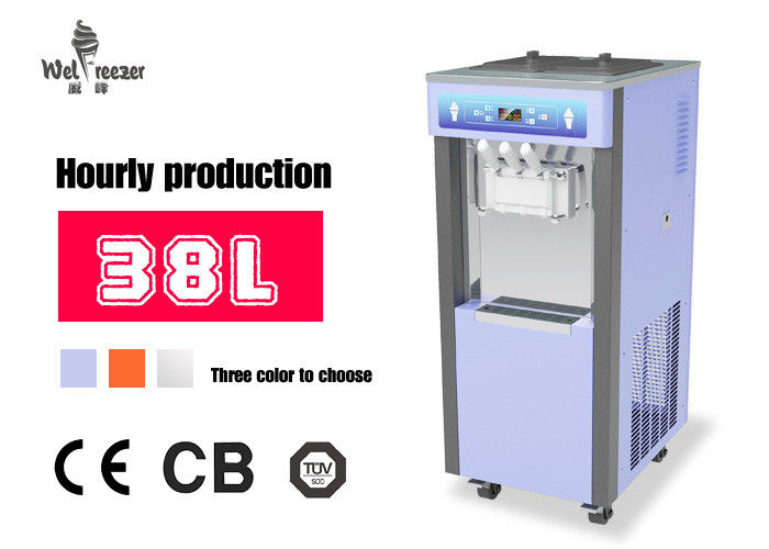 CE Certificate Commercial Frozen Yogurt Machine With 50Hz/60Hz Frequency , ET-538