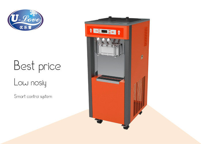 Commercial three Flavor Soft Ice Cream machine Frozen Yogurt Machine
