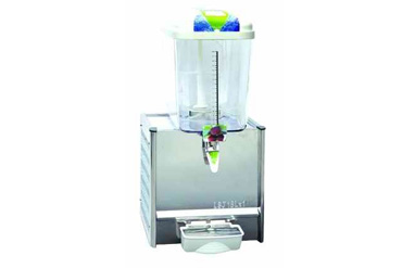 Cooling & Heating Single Tank 18 Liters Juice Machine, Commercial Cold Juice Dispenser With Mixin