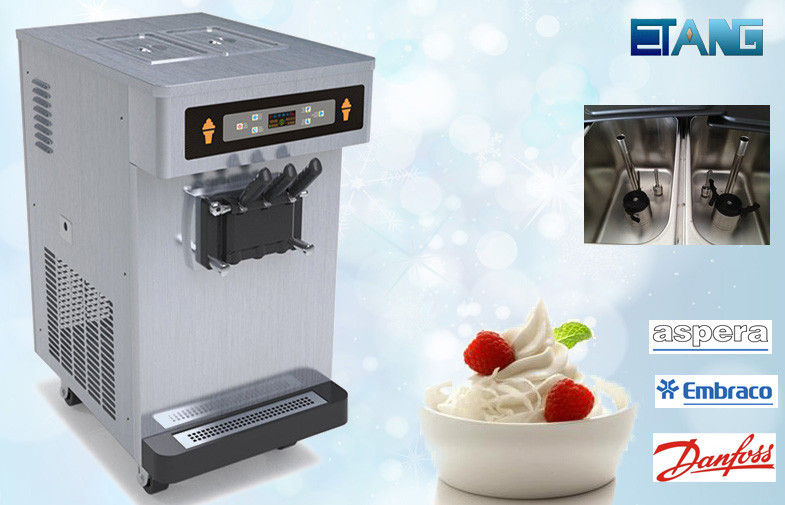 <b>Countertop Frozen Yogurt Machines , Big Tank with Pre-cooling system</b>
