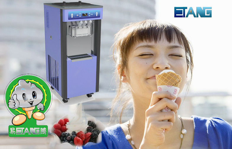 Automatic Producing Yogurt Ice Cream Machine and Auto Cleaning