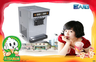 Table Top frozen Yogurt Ice Cream machine , Equip With Big Hopper and Stainless Steel