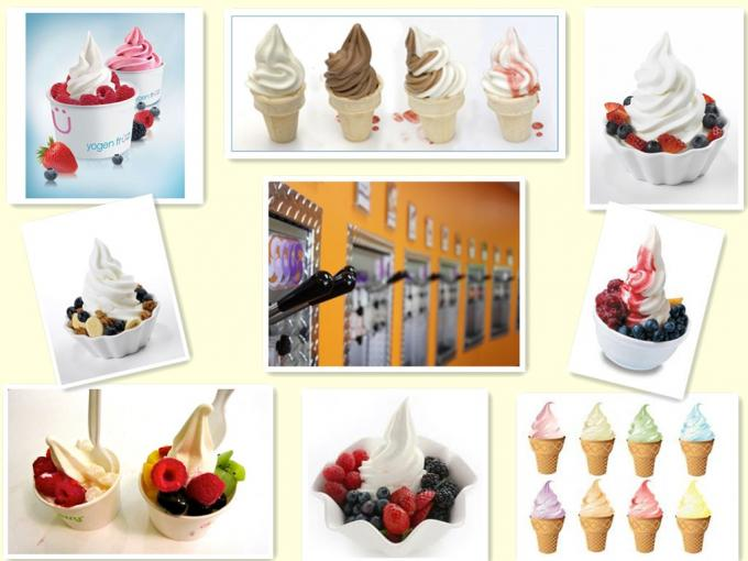 3 Flavor Mini Ice Cream Making Machine , small ice cream maker