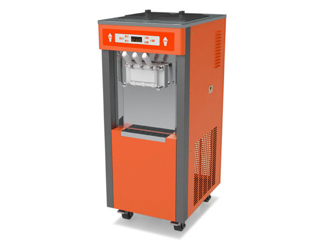 orange ice cream machine
